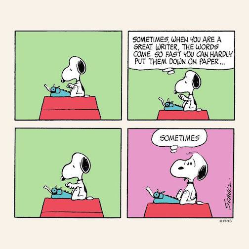 words snoopy
